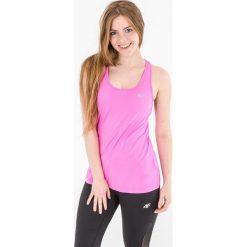4f Koszulka damska H4L17-TSDF002 różowa r. M. Czerwone topy sportowe damskie marki 4f, l. Za 27,55 zł.