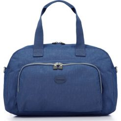 Torebka damska 86-4Y-901-7. Niebieskie torebki klasyczne damskie marki Wittchen, w paski. Za 149,00 zł.