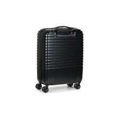 Walizki twarde Delsey  CAUMARTIN PLUS VALISE TROLLEY CABINE SLIM 4 DOUBLES ROUES 55 CM. Czarne walizki marki Dakine, z materiału. Za 706,30 zł.
