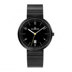 """Zegarek """"4460682"""" w kolorze czarnym. Czarne, analogowe zegarki męskie Dugena & Nautec No Limit, ze stali. W wyprzedaży za 359,95 zł."""