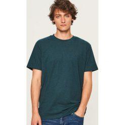 Melanżowy t-shirt - Turkusowy. Niebieskie t-shirty męskie Reserved, l. Za 29,99 zł.