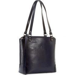 Torebka CREOLE - RBI10140 Granat. Niebieskie torebki klasyczne damskie Creole, ze skóry. W wyprzedaży za 259,00 zł.