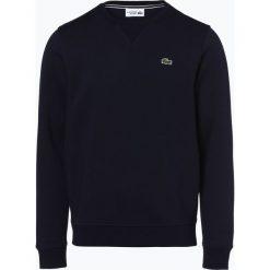 Lacoste - Męska bluza nierozpinana, niebieski. Szare bluzy męskie rozpinane marki Lacoste, z bawełny. Za 399,95 zł.