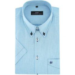 Koszula SERGIO slim 16-01-15-K. Czarne koszule męskie na spinki marki TOM TAILOR DENIM, l, z bawełny, button down, z długim rękawem. Za 169,00 zł.