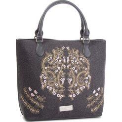 Torebka MONNARI - BAG5140-019 Szary. Szare torebki klasyczne damskie marki Monnari, z materiału, średnie. W wyprzedaży za 209,00 zł.
