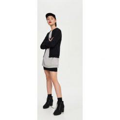 Bluzy damskie: Bluza bomberka - Czarny
