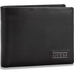 Duży Portfel Męski GUESS - SM2509 LEA20  BLA. Czarne portfele męskie Guess, ze skóry. Za 259,00 zł.