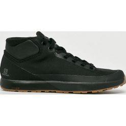 Salomon - Buty Acro Chukka. Czarne buty trekkingowe męskie Salomon, z materiału, na sznurówki, outdoorowe. W wyprzedaży za 479,90 zł.
