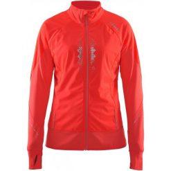 Craft Damska Kurtka Sportowa Brilliant 2.0 Warm Red  M. Czerwone kurtki damskie do fitnessu marki Craft, m, z materiału. W wyprzedaży za 359,00 zł.