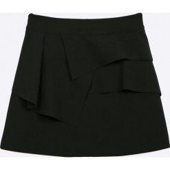 Sly - Spódnica dziecięca 134-170 cm. Czarne minispódniczki marki SLY, s, z acetatu, proste. Za 129,90 zł.