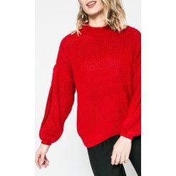 Tally Weijl - Sweter. Czerwone swetry klasyczne damskie marki TALLY WEIJL, l, z dzianiny, z krótkim rękawem. W wyprzedaży za 79,90 zł.