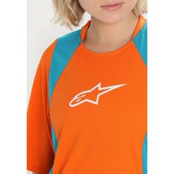 Alpinestars STELLA DROP  Tshirt z nadrukiem bright orange ocean. Brązowe topy sportowe damskie marki Alpinestars, m, z materiału, sportowe, z długim rękawem. Za 249,00 zł.