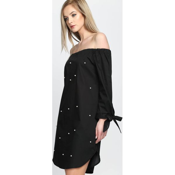 7d99c304f4 Czarna Sukienka Sunny Time - Czarne sukienki damskie marki Born2be ...
