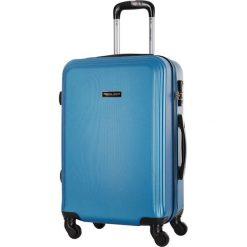 Walizka w kolorze niebieskim - 64 l. Niebieskie walizki marki Travel One, z materiału. W wyprzedaży za 269,95 zł.