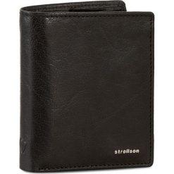 Duży Portfel Męski STRELLSON - Jefferson 4010001302 Black 900. Czarne portfele męskie Strellson, ze skóry. W wyprzedaży za 169,00 zł.