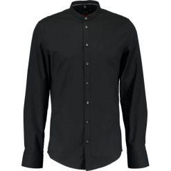 Koszule męskie na spinki: Seidensticker MANDARIN TAPE SLIM FIT Koszula schwarz