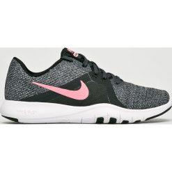 Nike - Buty Flex Trainer 8. Szare buty sportowe damskie Nike, z materiału. W wyprzedaży za 239,90 zł.