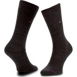 Skarpety Wysokie Męskie TOMMY HILFIGER - 422104001 Anthracite Melange 030. Czerwone skarpetki męskie marki Happy Socks, z bawełny. Za 44,99 zł.
