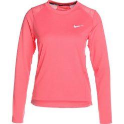 Nike Performance DRY MILER  Koszulka sportowa sea coral/reflective silver. Pomarańczowe topy sportowe damskie marki Nike Performance, xs, z materiału, z długim rękawem. W wyprzedaży za 126,65 zł.