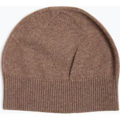 Apriori - Damska czapka z czystego kaszmiru, beżowy. Niebieskie czapki damskie marki Apriori, l. Za 179,95 zł.