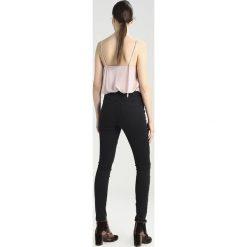 Vila VIJUNAS  Jeans Skinny Fit black. Czarne boyfriendy damskie Vila. W wyprzedaży za 174,30 zł.