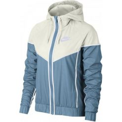 Nike Kurtka Damska W Nsw Wr Jkt Leche Blue Sail Leche Blue Xs. Niebieskie kurtki damskie do biegania marki Nike, xs. Za 155,00 zł.
