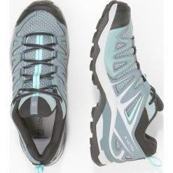 Salomon X ULTRA 3 PRIME  Obuwie hikingowe lead/stormy weather/canal blue. Białe buty sportowe damskie marki Nike Performance, z materiału, na golfa. Za 439,00 zł.
