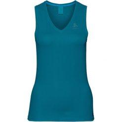 Odlo Koszulka damska TOP V-neck Singlet Active F-dry Ligh niebieska r. S (140931). Niebieskie t-shirty męskie marki Odlo, s. Za 75,95 zł.