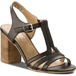 Sandały damskie: Sandały ANN MEX - 8639 01S Czarny