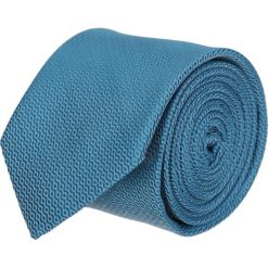 Krawat platinum niebieski classic 205. Niebieskie krawaty męskie Recman, z tkaniny, eleganckie. Za 49,00 zł.