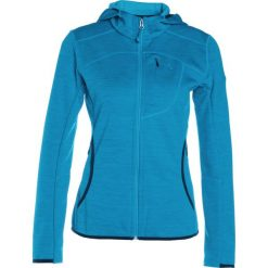 Schöffel BELFORT Kurtka z polaru blue jewel. Niebieskie kurtki sportowe damskie Schöffel, z materiału. W wyprzedaży za 229,05 zł.