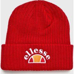 Ellesse - Czapka. Czerwone czapki zimowe męskie Ellesse, z dzianiny. W wyprzedaży za 99,90 zł.