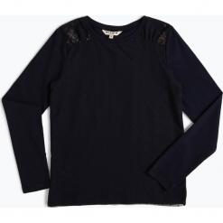 Review - Dziewczęca koszulka z długim rękawem, niebieski. Niebieskie bluzki dziewczęce z długim rękawem marki Review, z dżerseju. Za 79,95 zł.