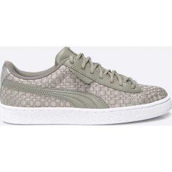 Puma - Buty Basket Satin. Szare buty sportowe damskie marki adidas Originals, z gumy. W wyprzedaży za 249,90 zł.