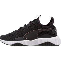 Puma DEFY Obuwie treningowe black/white. Czarne buty sportowe damskie Puma, z materiału. Za 419,00 zł.