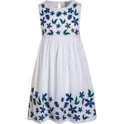 Sukienki dziewczęce: Friboo Sukienka letnia bright white