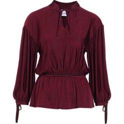 Bluzki asymetryczne: Won Hundred MATHILDE Bluzka z długim rękawem borrdeaux