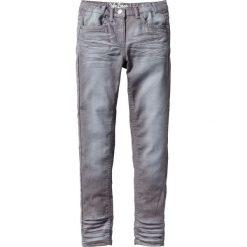"""Spodnie SKINNY """"used"""" bonprix dymny szary. Szare rurki dziewczęce bonprix. Za 49,99 zł."""