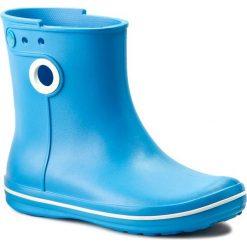 Kalosze CROCS - Jaunt Shorty Boot W 15769 Bluebell. Różowe buty zimowe damskie marki Crocs, z materiału. W wyprzedaży za 159,00 zł.