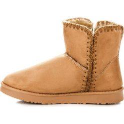 Zamszowe śniegowce kylie ALEXANDRA. Czerwone buty zimowe damskie KYLIE, z zamszu. Za 79,00 zł.