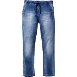 """Dżinsy dresowe Regular Fit Straight bonprix niebieski """"used"""". Niebieskie spodnie dresowe męskie bonprix, z dresówki. Za 109,99 zł."""