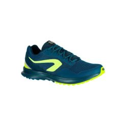 Buty do biegania RUN ACTIVE GRIP męskie. Szare buty skate męskie marki KALENJI, z gumy, do biegania. W wyprzedaży za 99,99 zł.