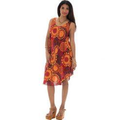 Sukienki: Sukienka w kolorze pomarańczowym