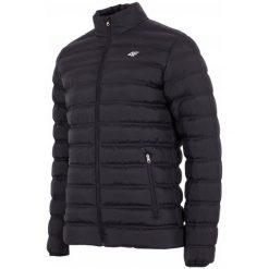 4F Męska Kurtka H4Z17 kum002 Czarny Xl. Czarne kurtki sportowe męskie marki 4f, na zimę, m, z puchu. W wyprzedaży za 179,00 zł.