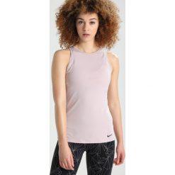 Nike Performance DRY TANK OVAL BACK  Koszulka sportowa particle rose/particle rose/black. Czerwone topy sportowe damskie Nike Performance, xl, z elastanu. W wyprzedaży za 125,10 zł.