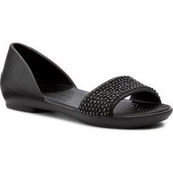 Rzymianki damskie: Sandały CROCS – Lina Embellished Dorsay 204361 Black/Black