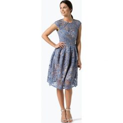Sukienki: Lipsy - Damska sukienka wieczorowa, niebieski