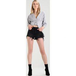 Bermudy damskie: Miss Sixty LEETO Szorty jeansowe black