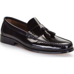 Buty męskie 86-M-650-1. Czarne buty wizytowe męskie marki Wittchen, z lakierowanej skóry. Za 329,00 zł.