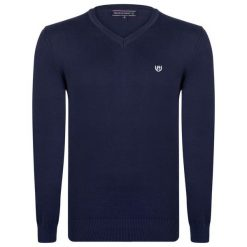 Felix Hardy Sweter Męski M Ciemnoniebieski. Niebieskie swetry klasyczne męskie marki Oakley, na lato, z bawełny, eleganckie. Za 159,00 zł.